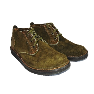 Zimbabwean Courteney Boot Vellie - Olive Suede