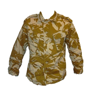 British Army Desert DPM Field Shirt