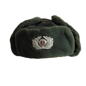 East German Army Officer Ushanka