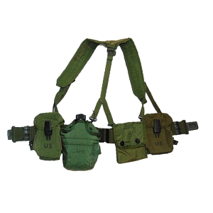 US Army Load Bearing Vest (LBV) Webbing