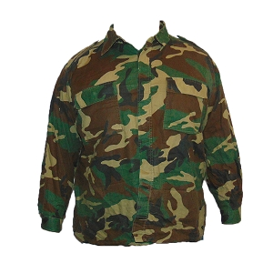Croatian Army Woodland Field Shirt