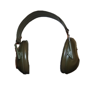 British Army Peltor H61FA Ear Muffs