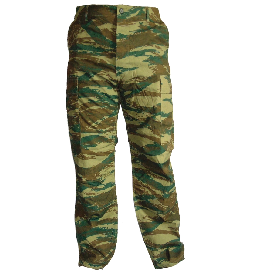 Greek Army Lizard BDU Pants