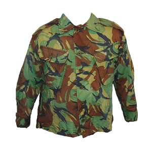 "British Army Tropical DPM ""No. 9"" Lightweight Shirt"