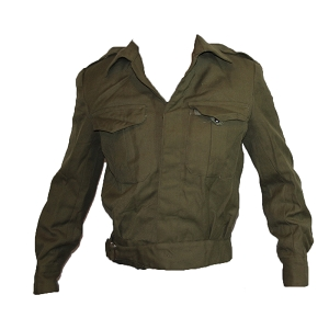 Greek Army OD Battledress Shirt