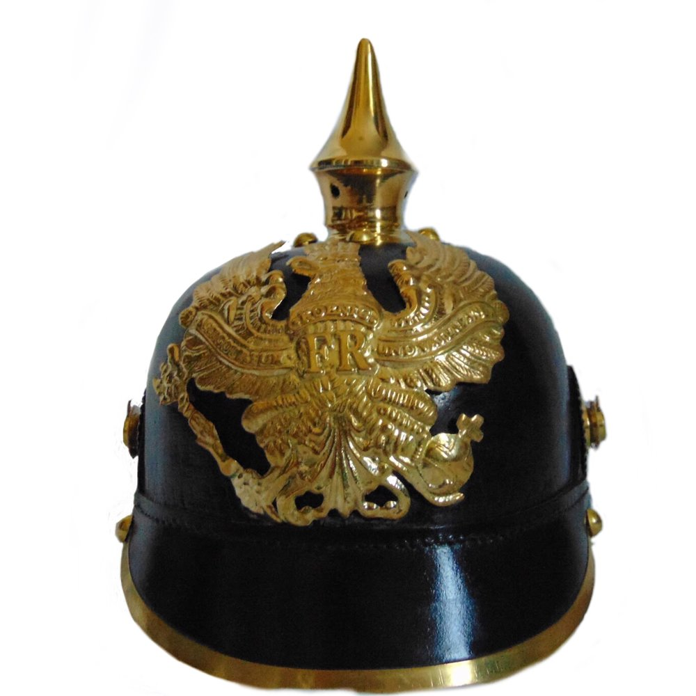 Imperial German Army Reproduction Spiked Pickelhaube Officer Helmet