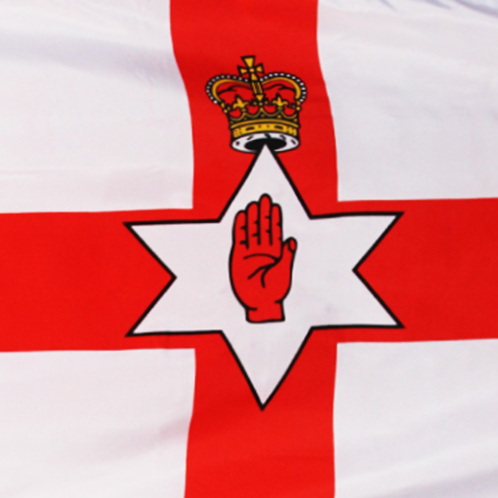 "ULSTER FLAG 3X5/' /""RED HAND/"" NORTHERN IRELAND NEW BANNER"