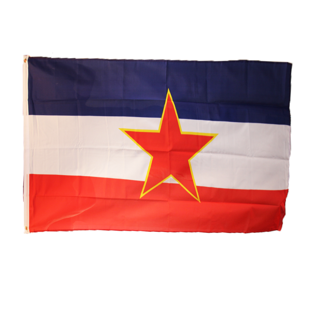 Yugoslavia 3x5ft Poly Flag