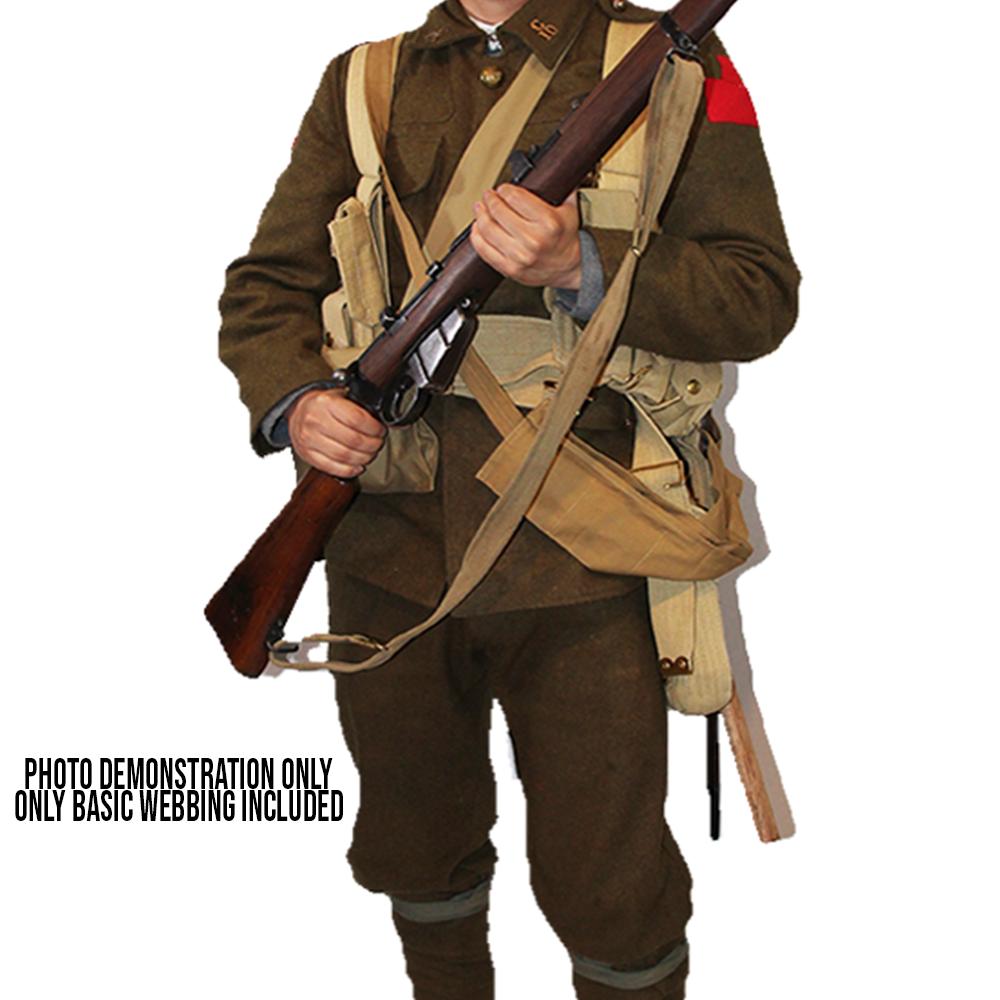 British Army WW1 Reproduction Pattern 1908 Webbing