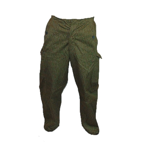 East German Army Strichmuster Raindrop Trousers