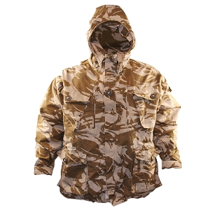 British Army Desert DPM Windproof Smock