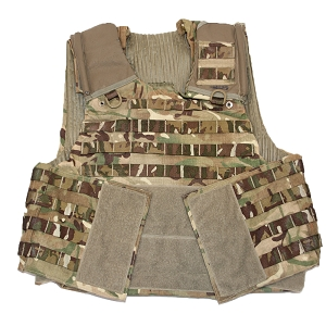 British Army MTP Plate Carriers