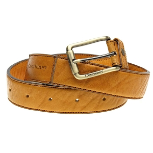 Zimbabwean Courteney Boot - Honey Leather Belt