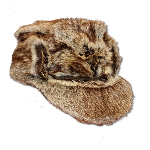 Czech Army Golden Jackal Fur Uniform Hat