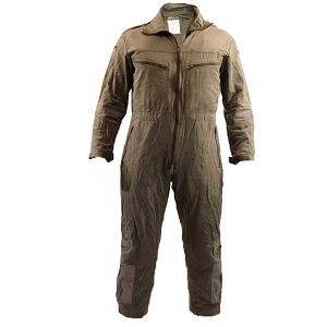 German Army OD Fire-Resistant Crewman Jumpsuit