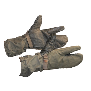 German Army Olive Trigger Mittens