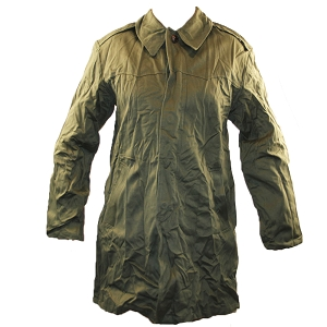 Hungarian Army OD Trench Coat