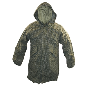 US Army Night Desert Pattern Hooded Parka