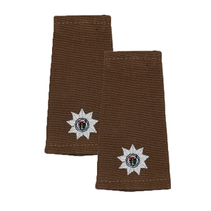 South African Defence Forces 2nd Lieutenant Epaulet Pair