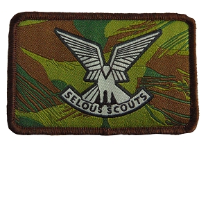 Selous Scout Tribute Patch
