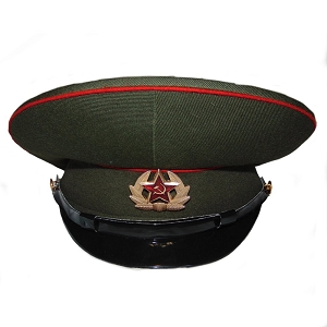 Soviet Army Officer Visor Hat