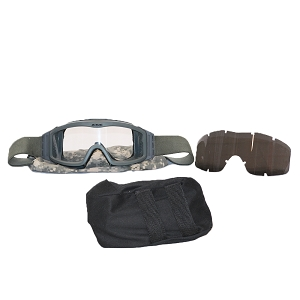 US Army ESS Profile NVG Series Goggles w/ 2 Lenses