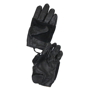 US Army Leather Utility Black Gloves