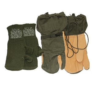 US Army Arctic Trigger Mittens w/ Liner
