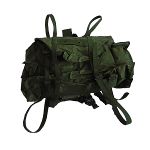 Belgian Army Rubberized Paratrooper 40L Rucksack