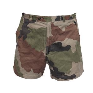 French Army Woodland CCE Short-Shorts