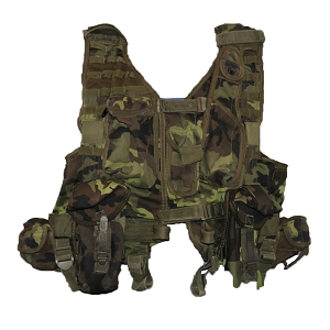 Czech Army vz.95 Woodland Tactical Vest
