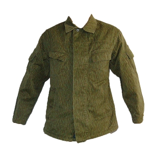 East German Army Strichmuster Raindrop Shirt