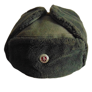 East German Army Ushanka