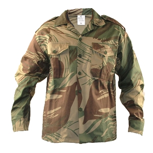 Rhodesian Army Brushstroke Field Shirt