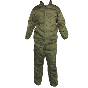 US Army Olive Drab NBC Protection 2-Piece Suit