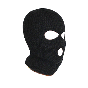 """Generic Bad Guy"" Three-Hole Acrylic Balaclava"