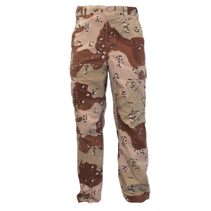 "US Army 6 Colour ""Chocolate Chip"" BDU Pants"