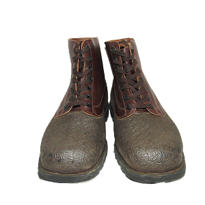 Swedish Army Leather Ammunition Boots