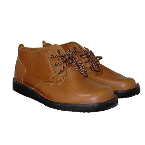 Zimbabwean Courteney Boot Vellie - Tan Leather