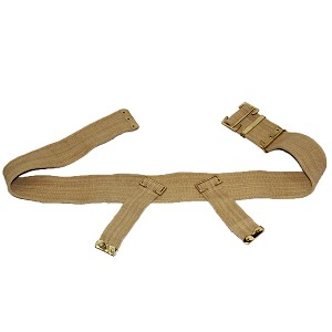 British Army WW1 Reproduction Pattern 1908 Belt