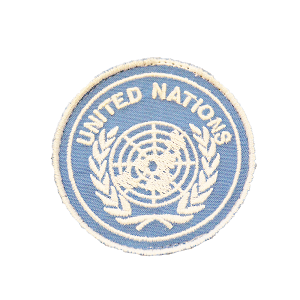"German Army UN Peacekeeping Operations ""Morale"" Patch"